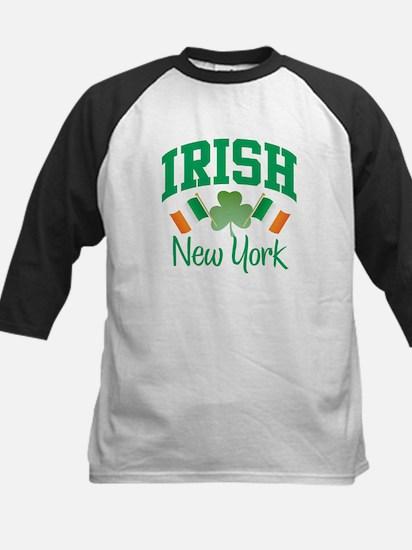 IRISH NEW YORK Kids Baseball Jersey
