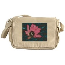 Pretty In Pink 8 Ball Messenger Bag