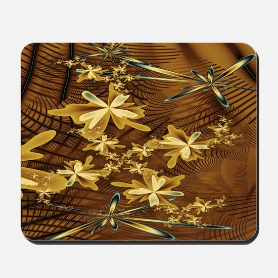 Abstract Flower Trappings Mousepad