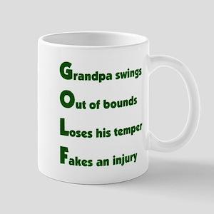 Grandpa Golf 2 Mug