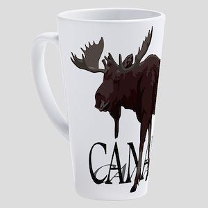Canada Moose Souvenirs 17 oz Latte Mug