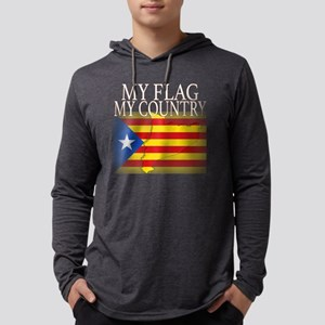 My Country My Flag Proud Catal Long Sleeve T-Shirt