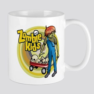 Red Wagon Zombie Kid Mug