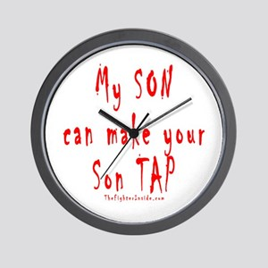 My SON can make your Son TAP Wall Clock