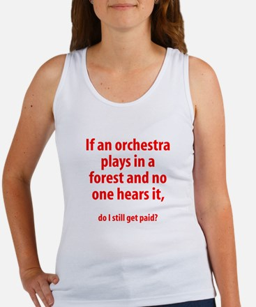 Orchestra in a Forest Women's Tank Top