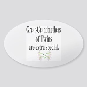 Great Grandmothers, Extra Spe Sticker (Oval)