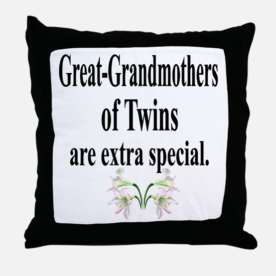 Great Grandmothers, Extra Spe Throw Pillow