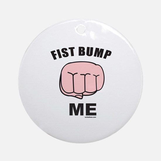 FIST BUMP Ornament (Round)