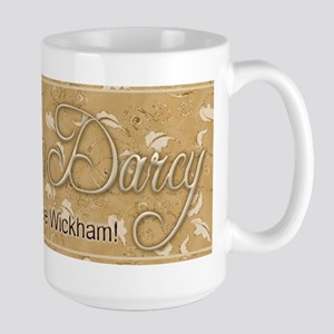 Dibs on Darcy Large Mug