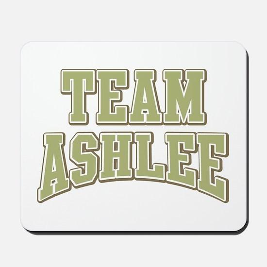 Team Ashlee Personalized Custom Mousepad