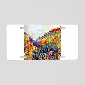 Camille Pissarro Mardi Gras Aluminum License Plate