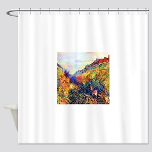 Camille Pissarro Mardi Gras Shower Curtain