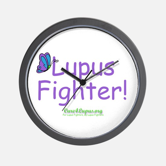 Lupus Fighter Wall Clock
