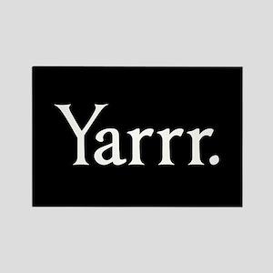 Yarrr Pirate Rectangle Magnet