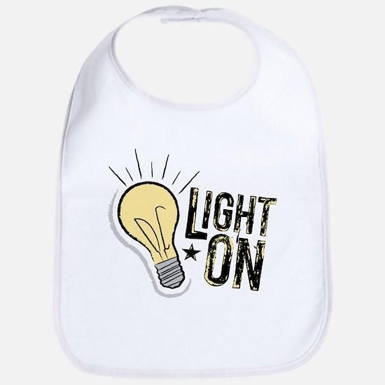 """Light On"" Bib"