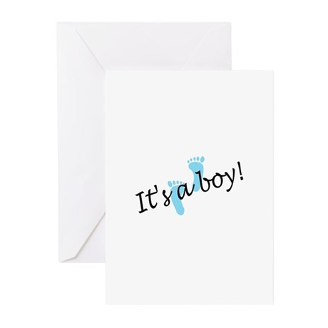 It's A Boy Greeting Cards (Pk of 20)