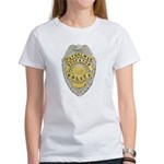 Stockton Police Badge Women's T-Shirt