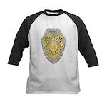Stockton Police Badge Kids Baseball Jersey