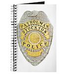 Stockton Police Badge Journal