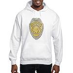 Stockton Police Badge Hooded Sweatshirt