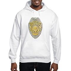 Stockton Police Badge Hoodie