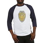 Stockton Police Badge Baseball Jersey