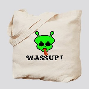 Alien Wassup Tote Bag
