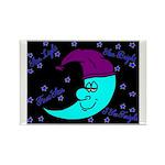 Sleepy Moonlight Rectangle Magnet (10 pack)