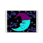 Sleepy Moonlight Rectangle Magnet