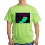 Sleepy Moonlight Green T-Shirt