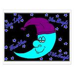 Sleepy Moonlight Small Poster