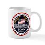 Navy Best Friend Mug