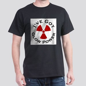 Glow Power Ash Grey T-Shirt