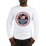 Navy Girlfriend Long Sleeve T-Shirt