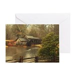 Mabry Mill Va Greeting Card