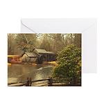 Mabry Mill Va Greeting Cards (Pk of 10)