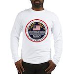 Navy Fiance Long Sleeve T-Shirt