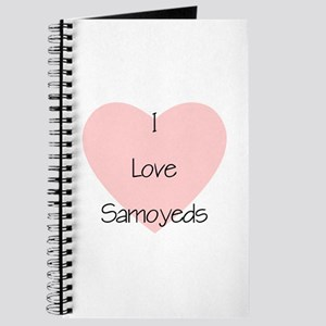 I Love Samoyeds Journal