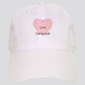 I Love Samoyeds Cap