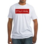 Proud Infidel Fitted T-Shirt