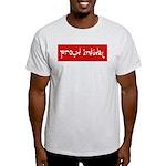 Proud Infidel Ash Grey T-Shirt