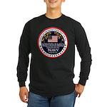 Navy Veteran Long Sleeve Dark T-Shirt