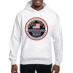 Navy Veteran Hooded Sweatshirt