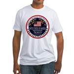 Navy Veteran Fitted T-Shirt