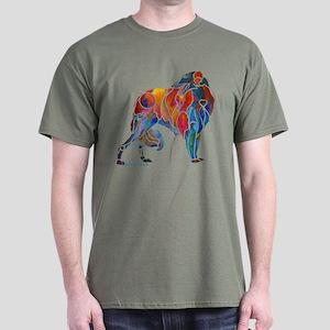 Borzoi on Dark T's Dark T-Shirt