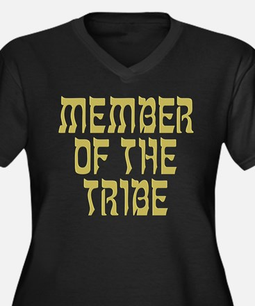 Member of the Tribe - Women's Plus Size V-Neck Dar