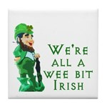 Wee Irish Tile Coaster