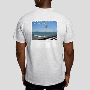 Imperial Beach Pier, San Diego Light T-Shirt