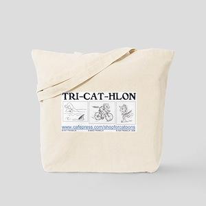 Catoons™ TRI-CAT-HLON™ Cat Tote Bag