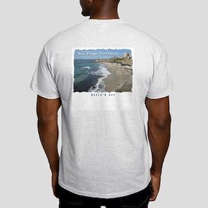 La Jolla Beaches, San Diego Light T-Shirt